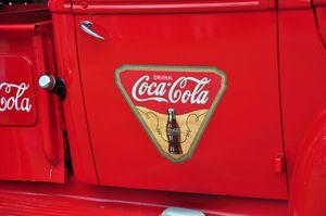 Coca Cola Logo Pickup Truck