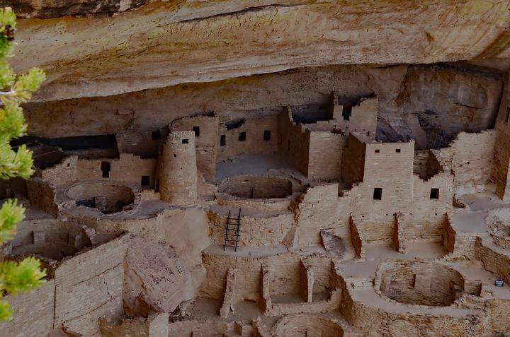 Mesa Verde Ruins - Fine Art by Debby