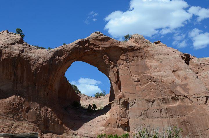 Window Rock Beauty - Fine Art by Debby