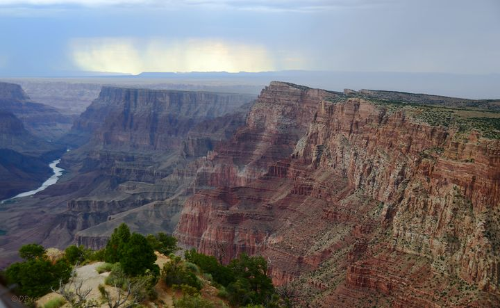 Grand Canyon View from Desert View - Fine Art by Debby