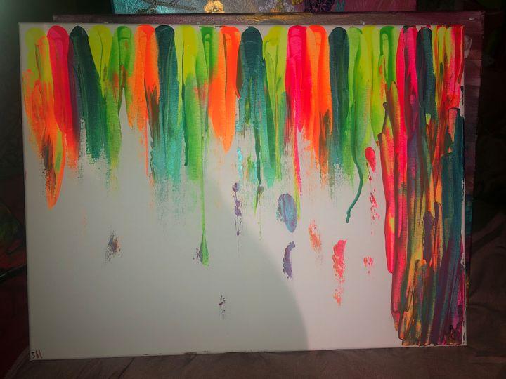 Tassel neon - The beauty of art