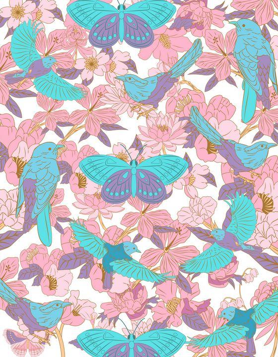 Patrón mariposas - Giovanna Gil Alves