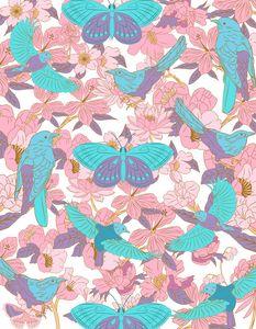 Patrón mariposas