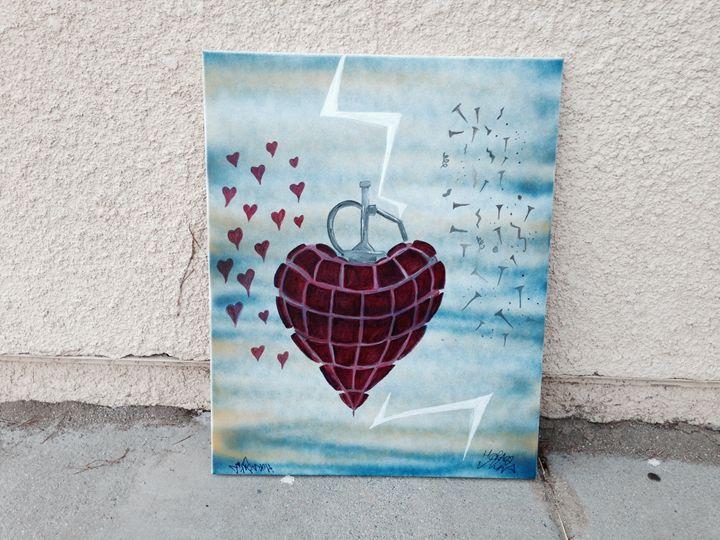 Heart Grenade - HoraceNina