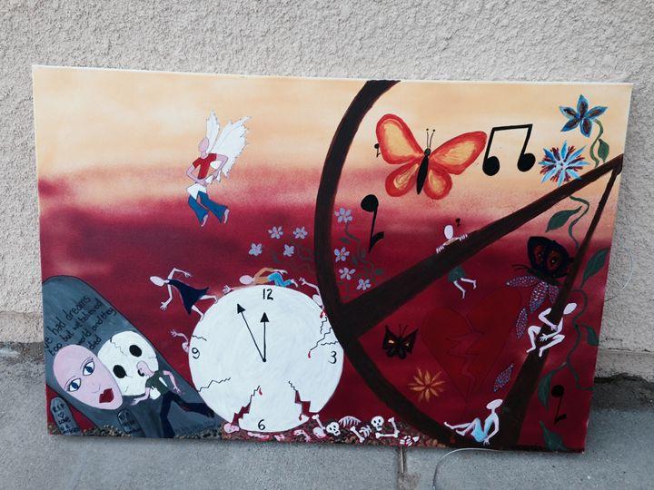 Crushing Time and the Eternity Wheel - HoraceNina