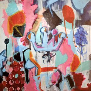 QUEEN - Stress Art by Shelli Finch