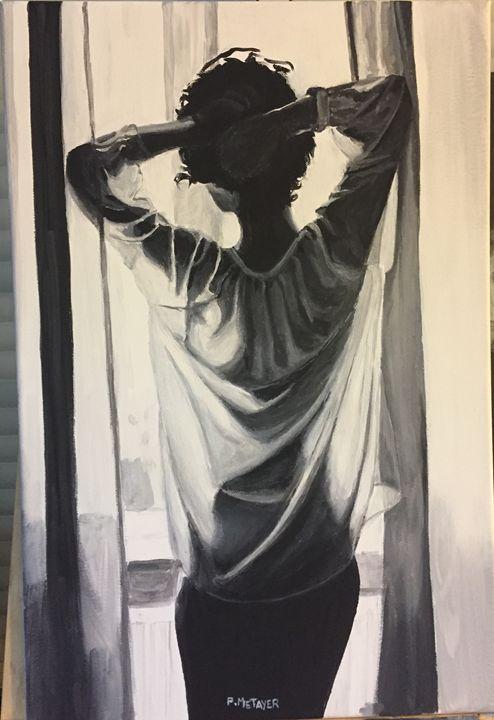 La femme à la fenêtre N°23 - Philippe METAYER