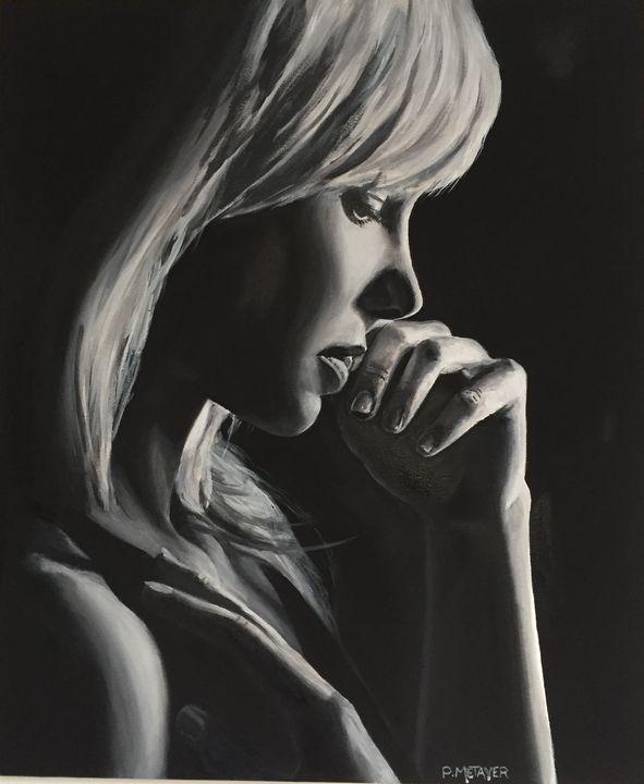 Blonde à contre jour N°26 - Philippe METAYER
