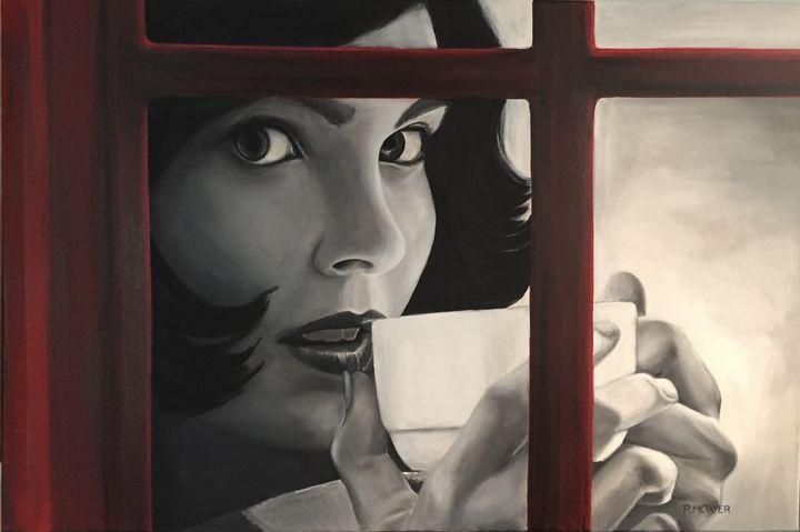 En noir et rouge N°30 - Philippe METAYER