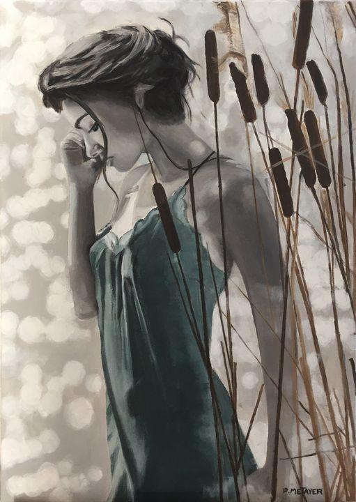 La nymphe du marais - Philippe METAYER