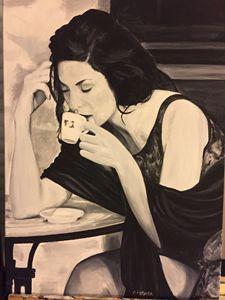 La buveuse de café N°19