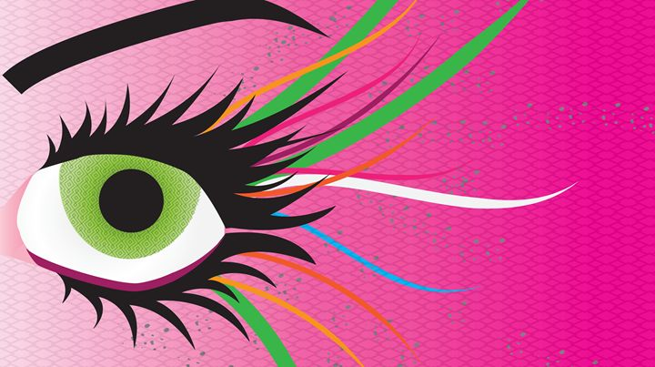 Beauty in My Eye (PINK) - Dun by Steph