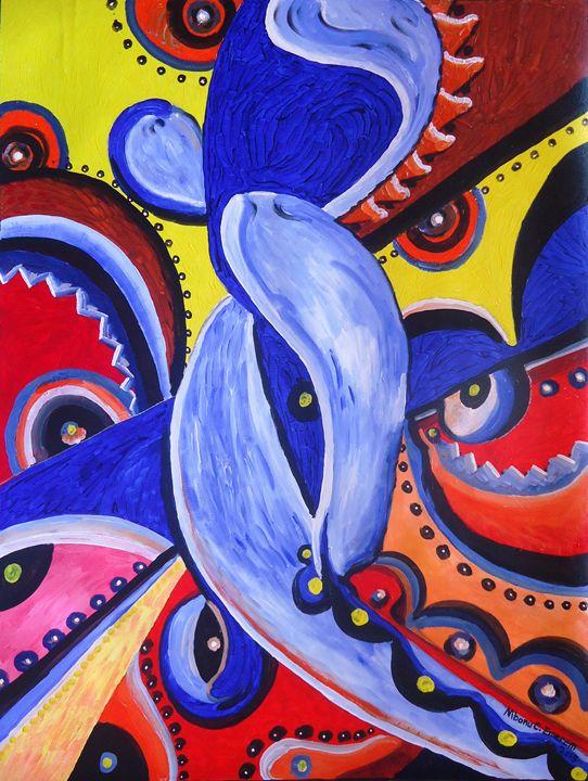 ''Sensuous Embrace #2'' - Mbonu-Emerem Museum of Art