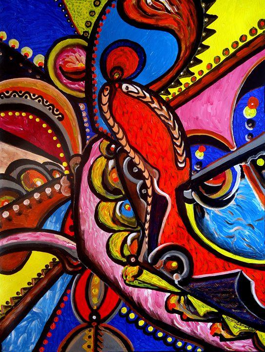 ''Sensuous Embrace #3'' - Mbonu-Emerem Museum of Art