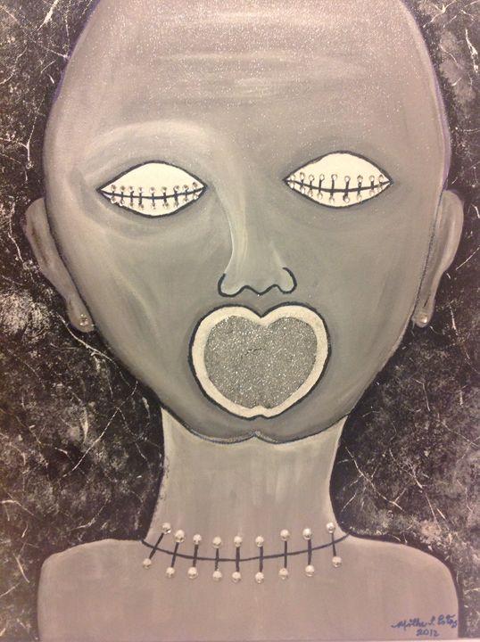 Blind  women - Art market ME