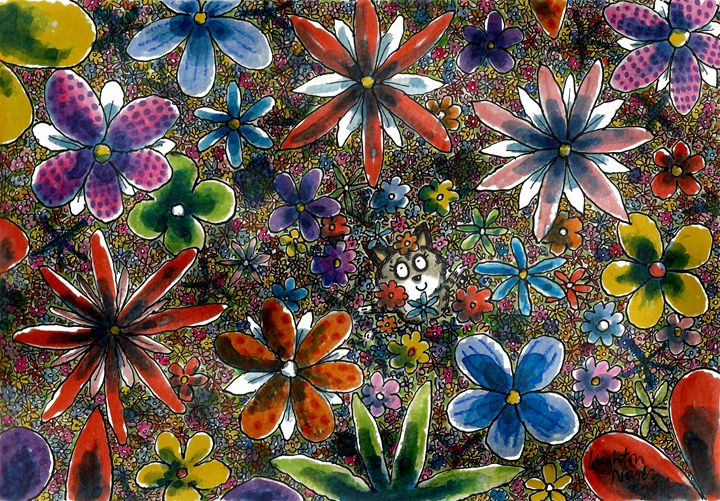 Flower Shower - Leighton Noyes