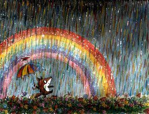 The Night a Rainbow Rained