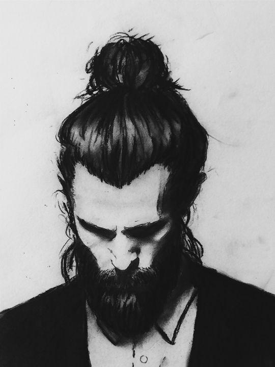 The Bearded Man - Rachel S Robin