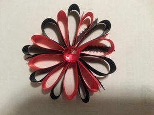 Pinwheel Hair Bow - Von