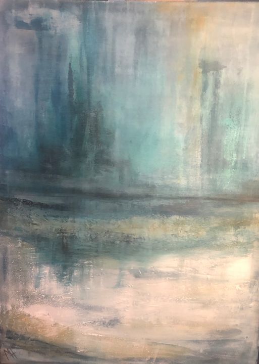 Turquoise Forest Mist - Hanson Sloan