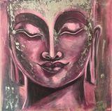 Original Budha painting, acrylic,