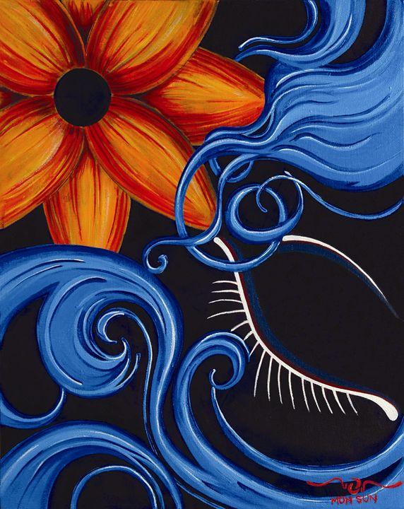 Blue - Divinity Art