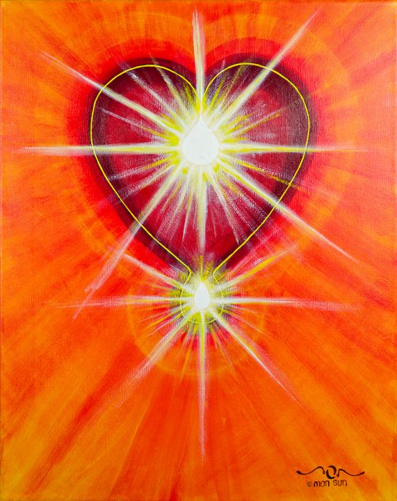 Love is Light - Divinity Art