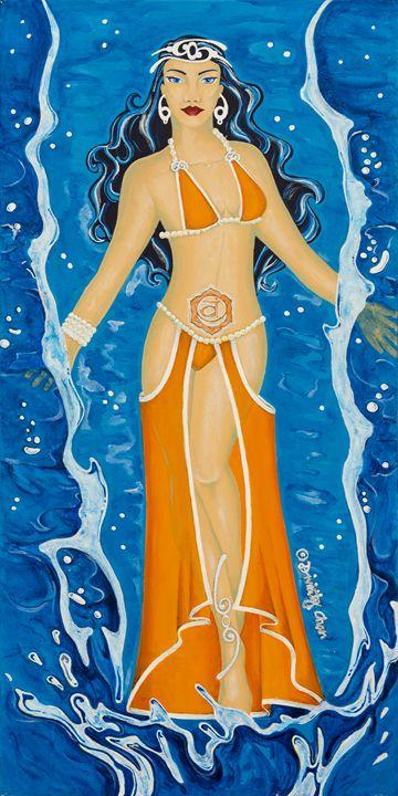 Svadhishthana Sacral Root Chakra - Divinity Art