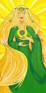 Anahata Heart Chakra Goddess