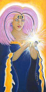 Ajna Third Chakra Goddess