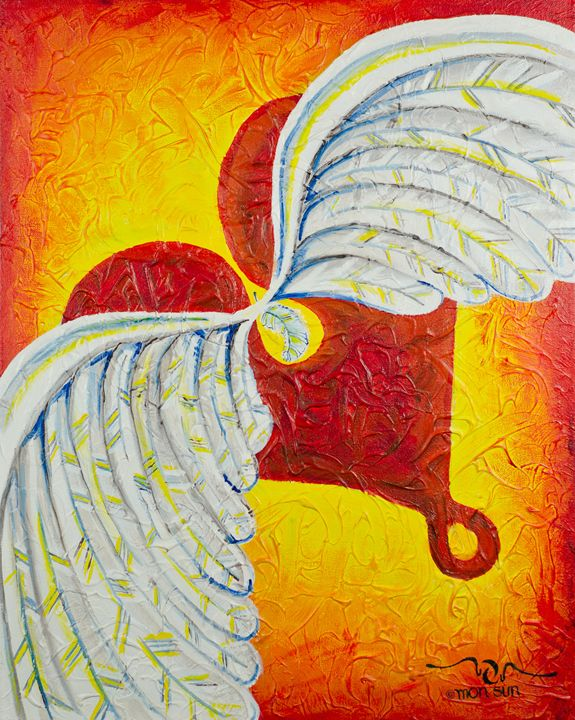 Love is Taking Flight - Divinity Art