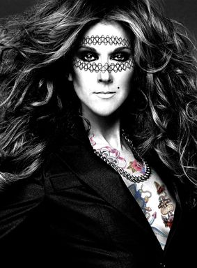 """CD"" Celine Dion - M Tattoo Art"