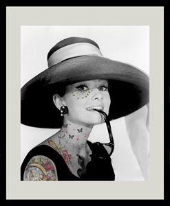 """""""AH"""" Audrey Hepburn"""