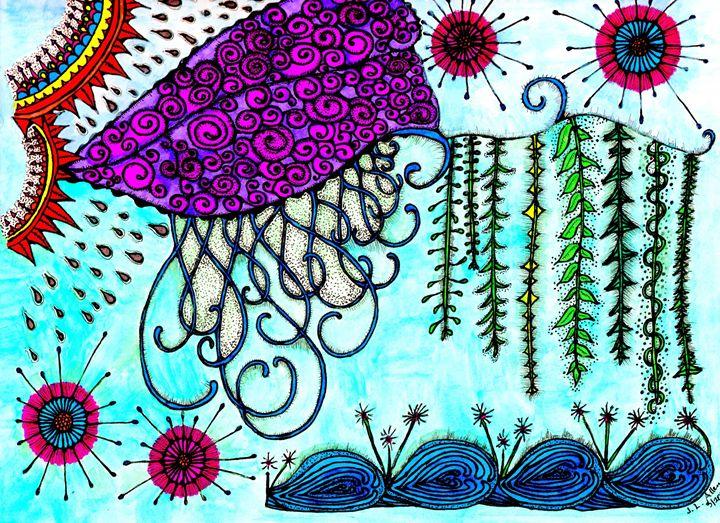 Spring Explosion - jlallen artfull designs