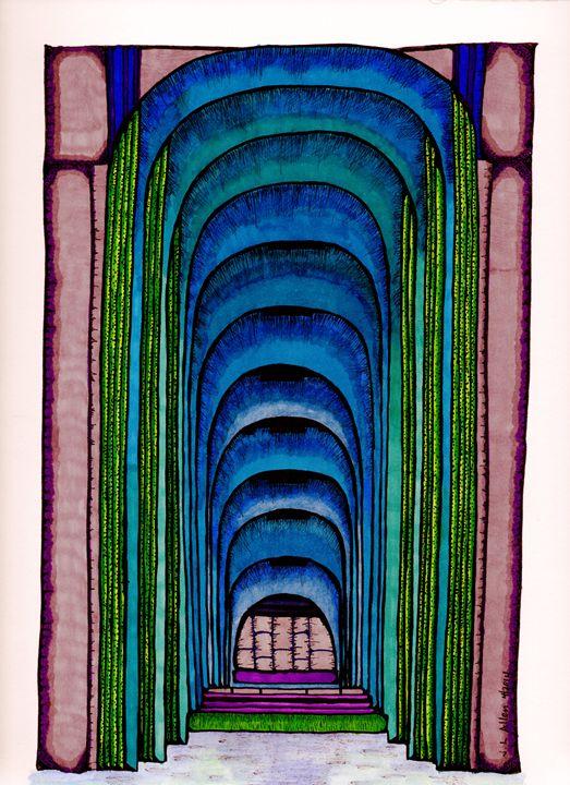 Under the Bridge - jlallen artfull designs