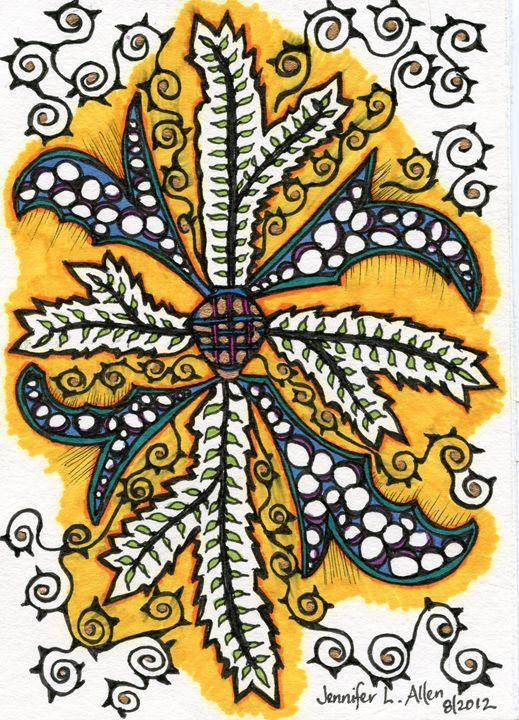 Golden Leaf - jlallen artfull designs