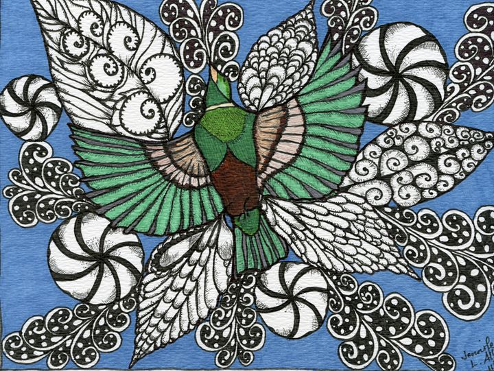 In Flight - jlallen artfull designs