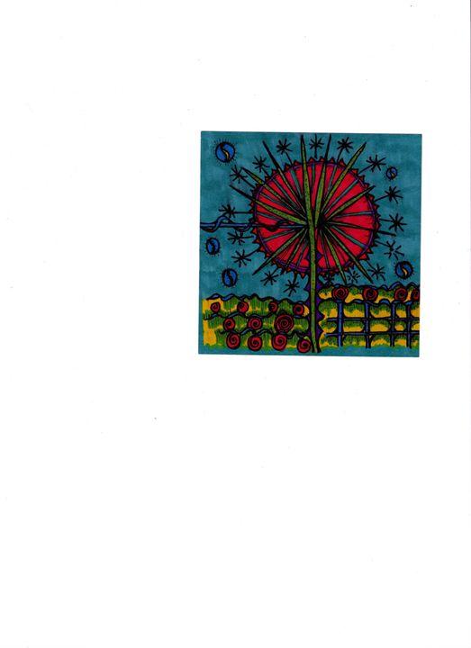 Windmill Flower - jlallen artfull designs
