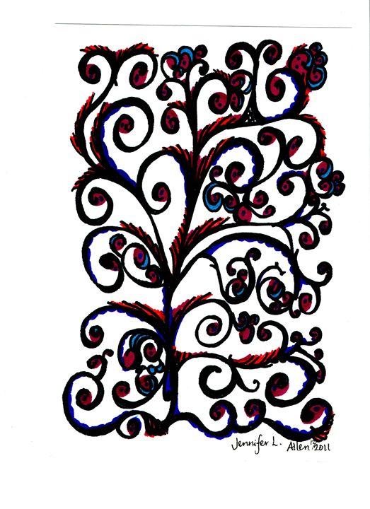 Trellis Treasure - jlallen artfull designs