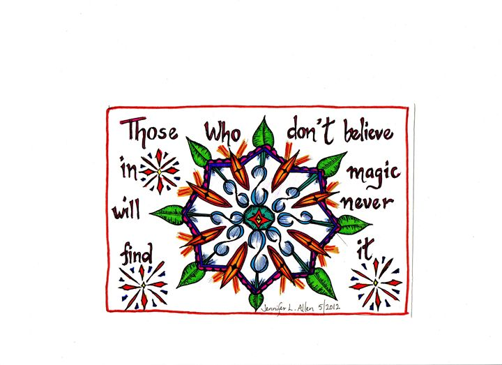 Believe in Magic - jlallen artfull designs