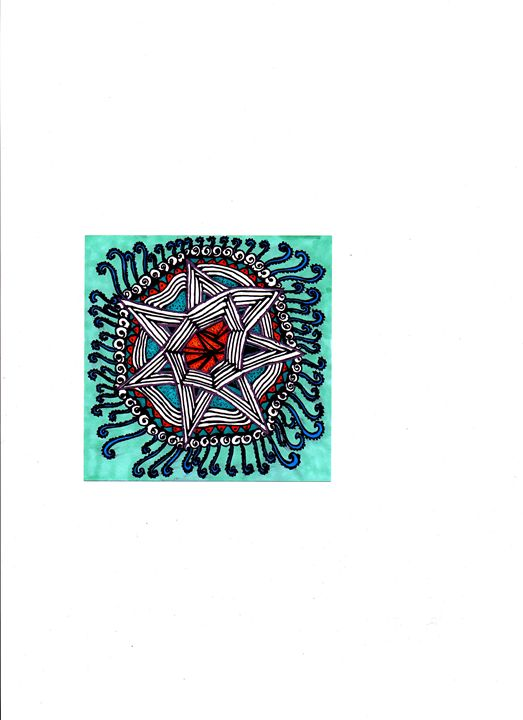 Star Mandala - jlallen artfull designs