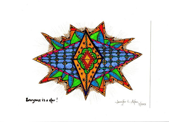 Everyone Is A Star - jlallen artfull designs