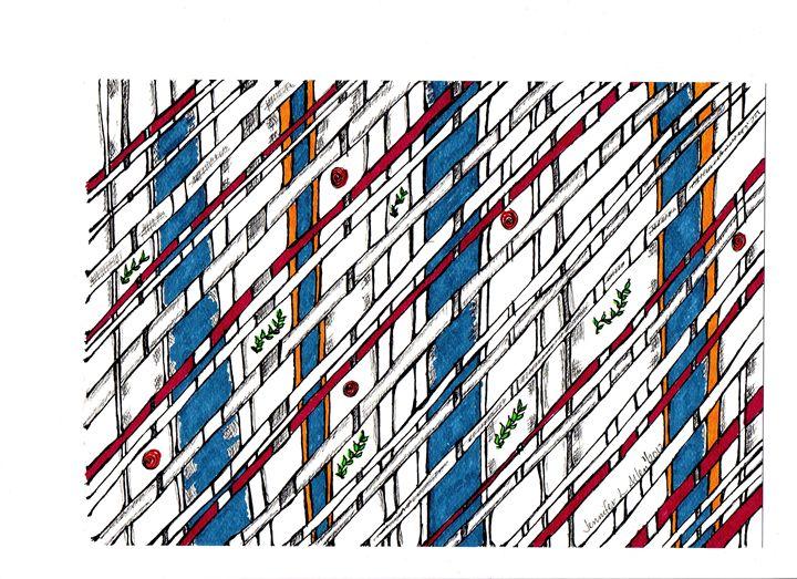 Bamboo in Color - jlallen artfull designs