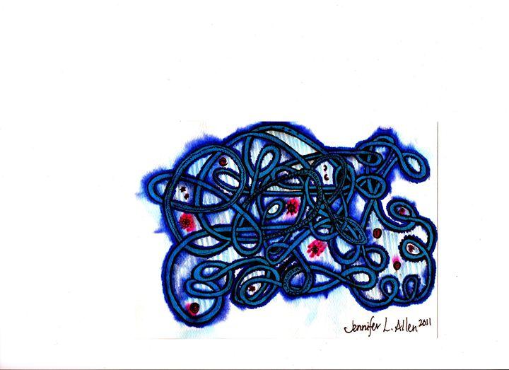 Tangled Up - jlallen artfull designs