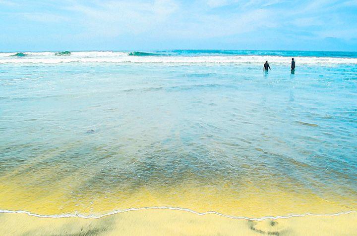 Big Blue Ocean - Created by Laurel
