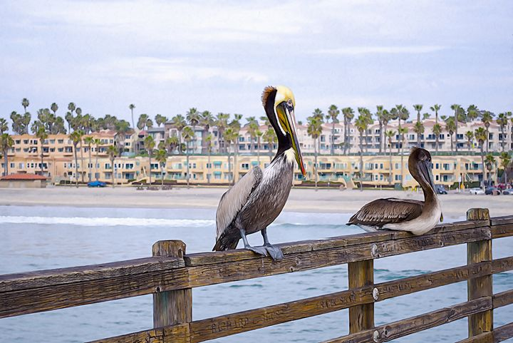 Guardians of the Pier - Created by Laurel