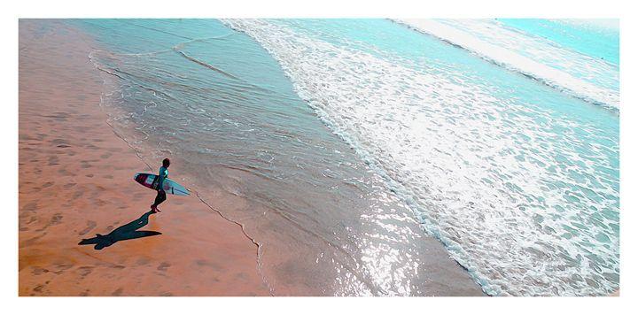 Surfer Boy - Created by Laurel