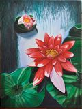Red Lotus blossom (166)