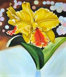 yellow orchid