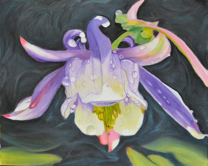 Dewy Orchid (70) - Flower Art Gallery